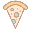 Food pizza Icon