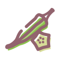 Dried vegetables Icon
