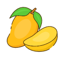 Dried mango Icon