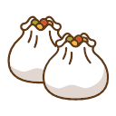 Steamed Pork Dumplings Icon