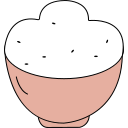 Steamed Rice Icon