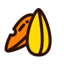 Snacks, melon seeds Icon