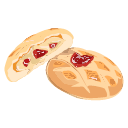 Soft heart biscuits Icon