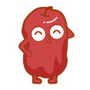 Dried red dates Icon