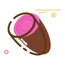 Dried purple sweet potato Icon