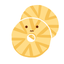 Dried pineapple Icon