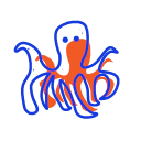 Octopus Fish Icon