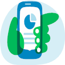 Mobile task monitoring Icon