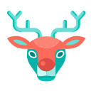 Christmas Reindeer Icon