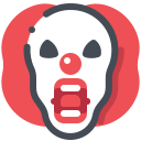 Clown Halloween Icon
