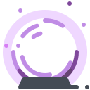 Halloween crystal ball Icon