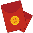 Red envelopes Icon
