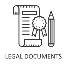 legal instrument Icon