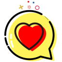 Care, love, care, care Icon