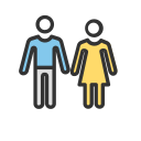 Two person Tour Icon