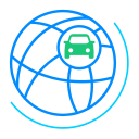 Vehicle interconnection Icon