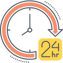 24 HOURS_1 Icon