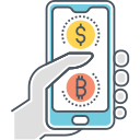 DIGITAL CURRENCY PAYMENT Icon