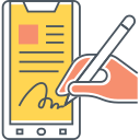 DIGITAL SIGNATURE Icon