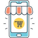 MOBILE COMMERCE Icon