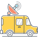SATELLITE TRUCK Icon