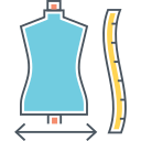 SIZE GUIDE Icon