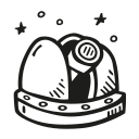 space-observatory Icon