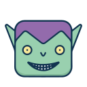 Green devil Icon