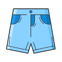 Denim shorts Icon