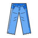 Old jeans Icon