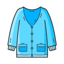 Sweater cardigan Icon