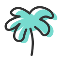 Coconut tree 1 Icon
