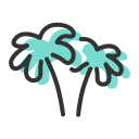 Coconut tree 2 Icon