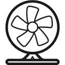 Sitting fan Icon