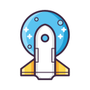 Space Mission Icon