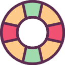 Swimming circle Icon