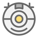 Sweeping robot Icon