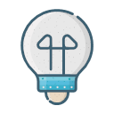 Electric light Icon