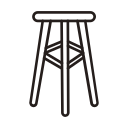 Furniture chair Icon