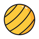 Exercise Ball Icon