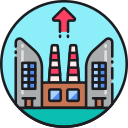 Infrastructure Efficiency Icon
