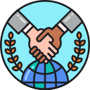 International Agreement Icon
