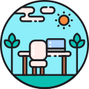 Open Space Design Icon