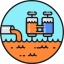 Wastewater Treatment Icon