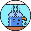 Water Harvesting Icon