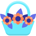 flower-on-basket Icon