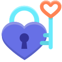 key-of-heart Icon