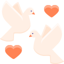 wedding-doves Icon