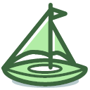 sailing-ship Icon