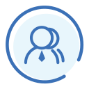 Organization partner management Icon